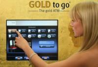 Автомат по продаже золота в слитках в Берлине