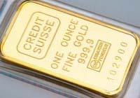 штампованный золотой слиток