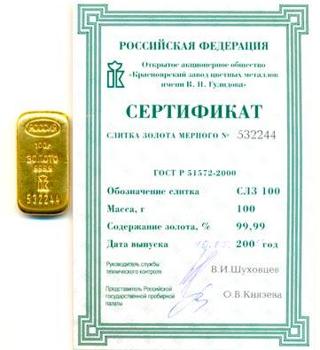 Цена на золото в Сбербанке - Все про золото