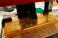 Маркировка стандартного золотого слитка