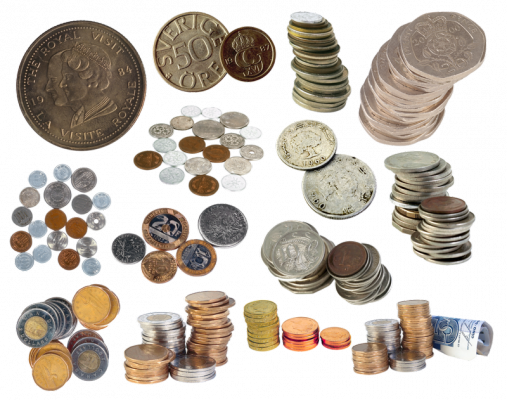 разнообразие коллекционных монет