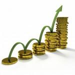 Рост количества монет