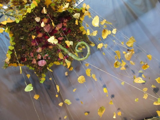 Падающая листва - метафора, отражающая котировки золота в октябре