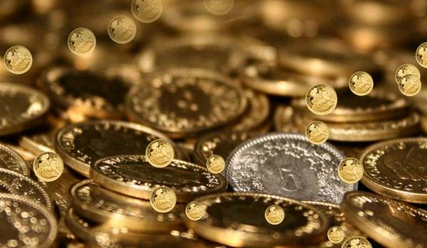 Монеты крупным планом