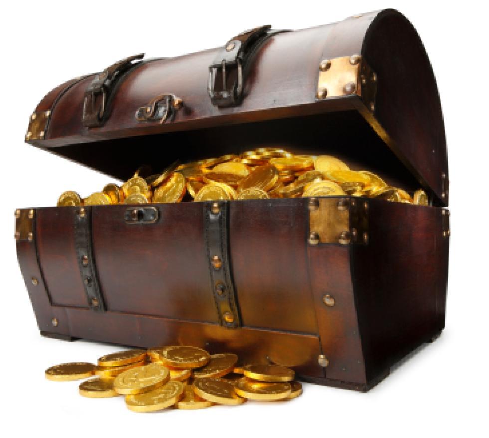 Картинки по запросу сундук золота