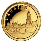 Золотая монета Украины