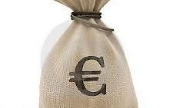 Котировки: мешок с изображением значка евро