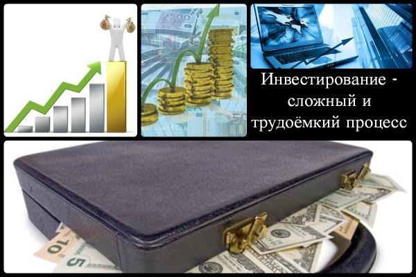 Коллаж об основах инвестирования
