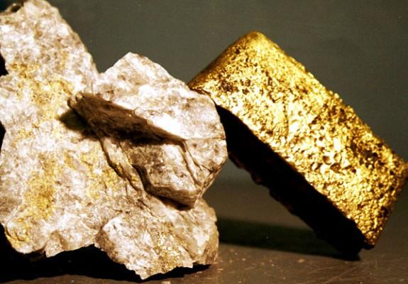 Куски золота