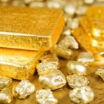 Слитки и крупицы золота
