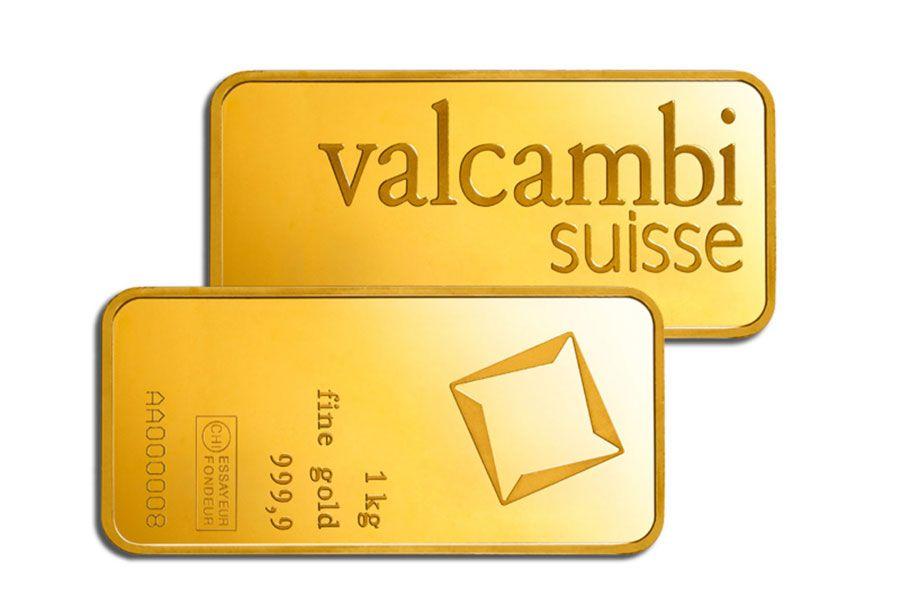 2 килограммовых слитка золота