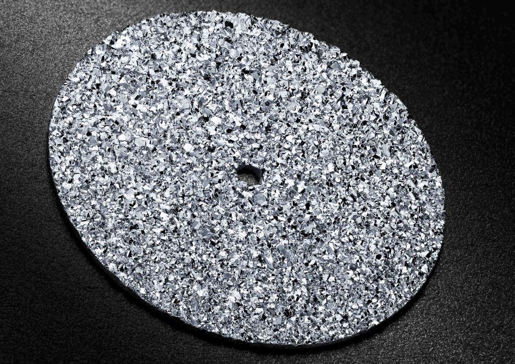 Кольцо из платиновой крошки