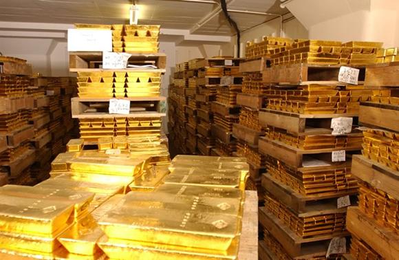 Золото в надёжном хранилище