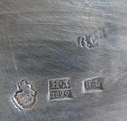 Клеймо 84-ой пробы 1829 года