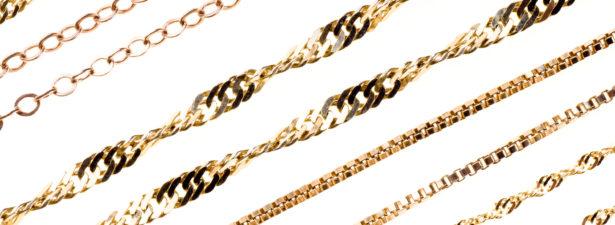 Виды плетений из золота