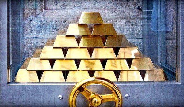 Золото в сейфе