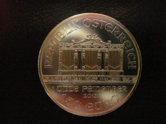 фото австрийского филармоникера номиналом 150 евро