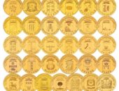 памятные десятирублевые монеты