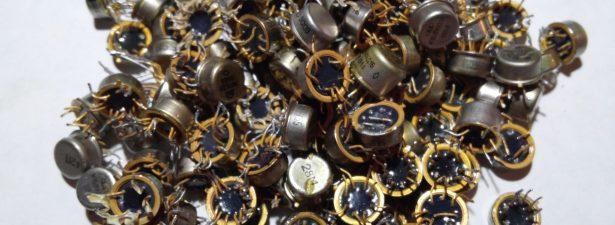 добыча золота из радиодеталей