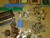 радиодетали с драгоценными металлами