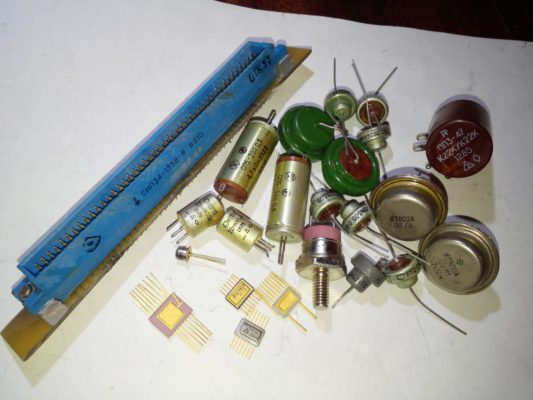 драгоценные металлы в радиодеталях
