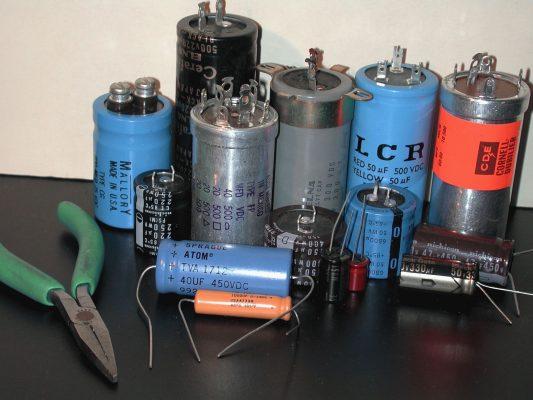 конденсаторы с серебряным корпусом