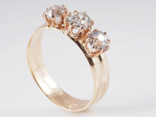 кольцо из золота 14 карат