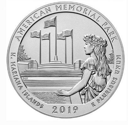монета американский мемориальный парк