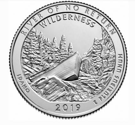монета дикая местность река Фрэнк Черч