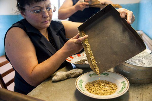 переработка добытого золота