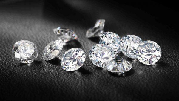 маленькие настоящие бриллианты