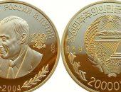 монета 2004 года с портретом Путина