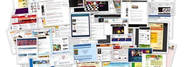 коллаж из сайтов