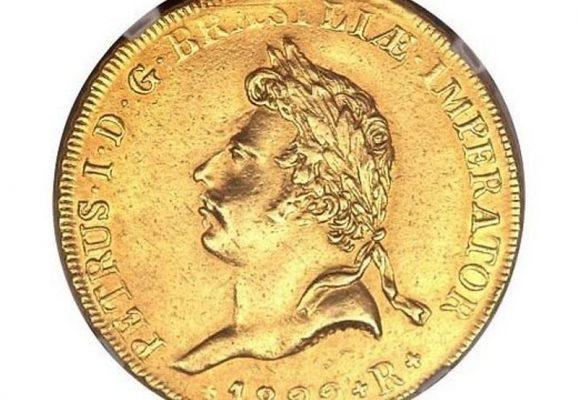 монета Педро I