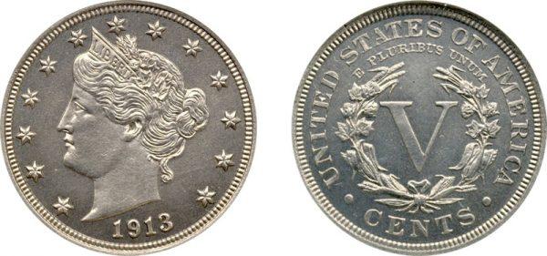 монета Голова свободы