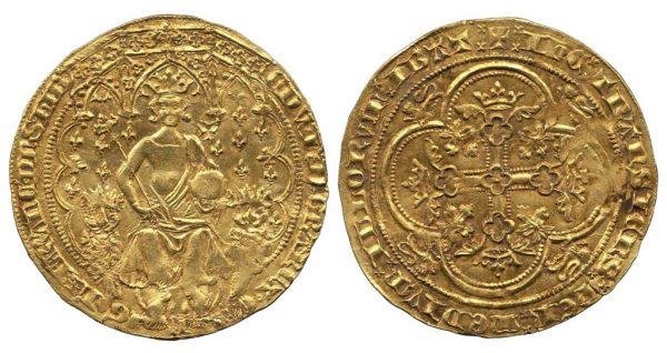 монета Эдуарда III