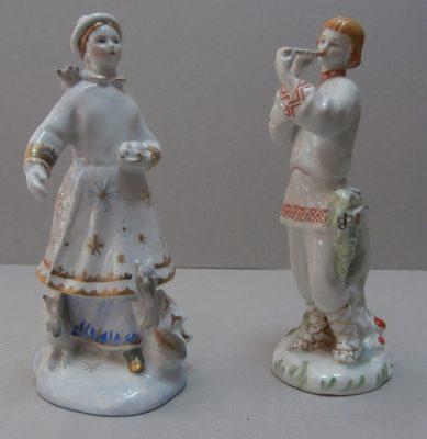 статуэтки Лель и Снегурочка