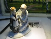 советская фарфоровая статуэтка