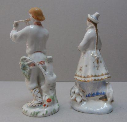 статуэтки Лель и Снегурочка вид сзади