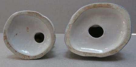 отверстия в основании фарфоровых статуэток