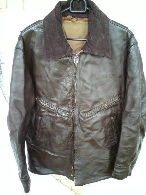 советская кожаная куртка