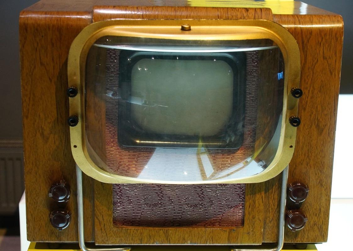 старый советский телевизор