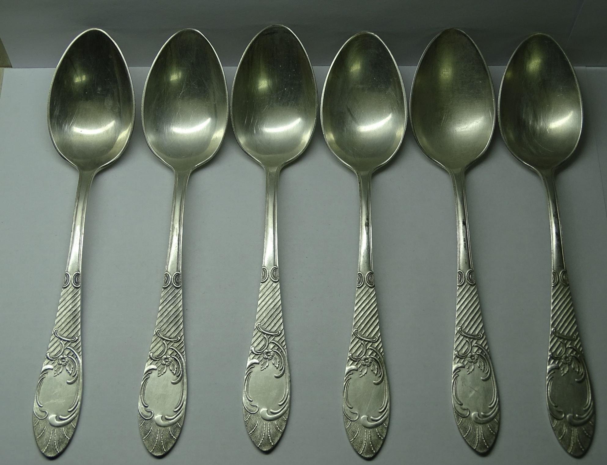 серебрянные ложки