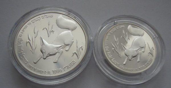 израильская монета с лисой