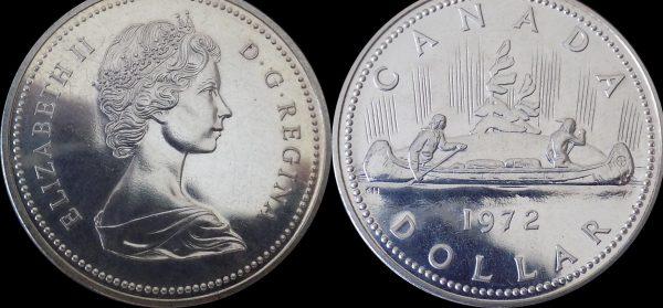 поле монеты