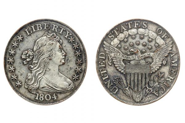 Brasher Doubloon 1787 года